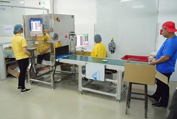 X線異物検針器